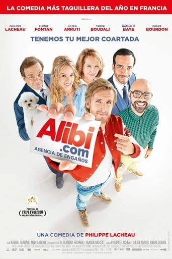"Poster for the movie ""Alibi.com (Agencia de engaños)"""