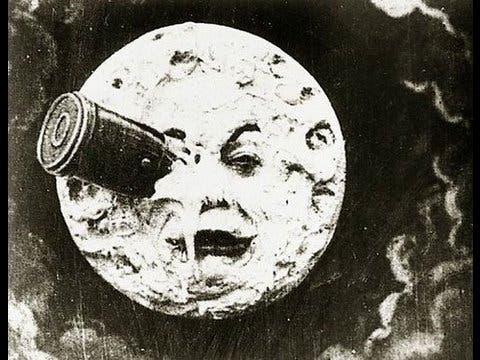 viaje a la luna de Georges Melies
