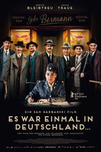 "Poster for the movie ""Es war einmal in Deutschland"""