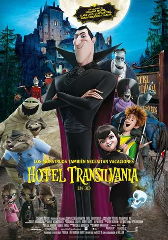 """Poster for the movie """"Hotel Transilvania"""""""