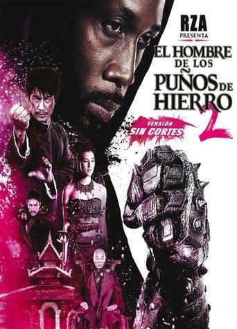 """Poster for the movie """"El hombre de los puños de hierro 2"""""""