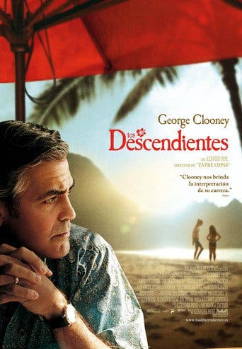 """Poster for the movie """"Los descendientes"""""""