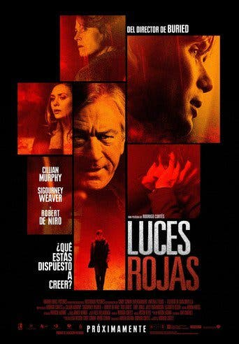 "Poster for the movie ""Luces rojas"""