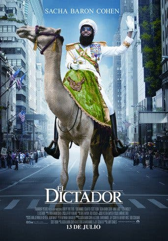 "Poster for the movie ""El dictador"""