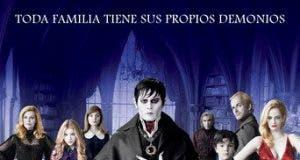 "Poster for the movie ""Sombras tenebrosas (Dark Shadows)"""