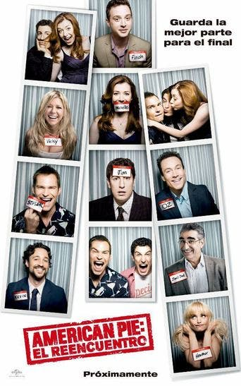 "Poster for the movie ""American Pie: El reencuentro"""