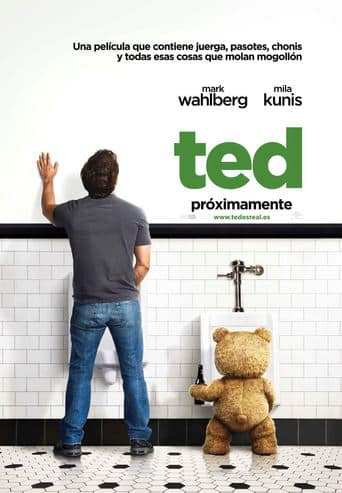 "Poster for the movie ""Ted"""