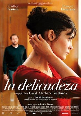 """Poster for the movie """"La delicadeza"""""""