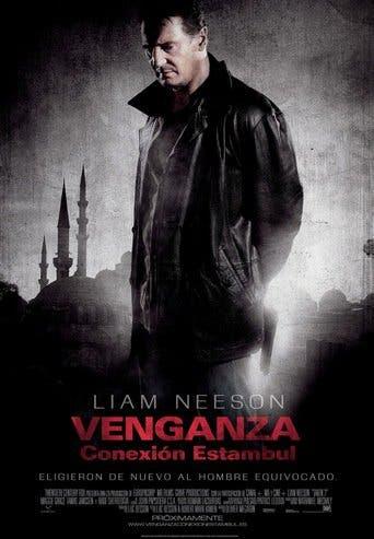 "Poster for the movie ""Venganza: Conexión Estambul"""