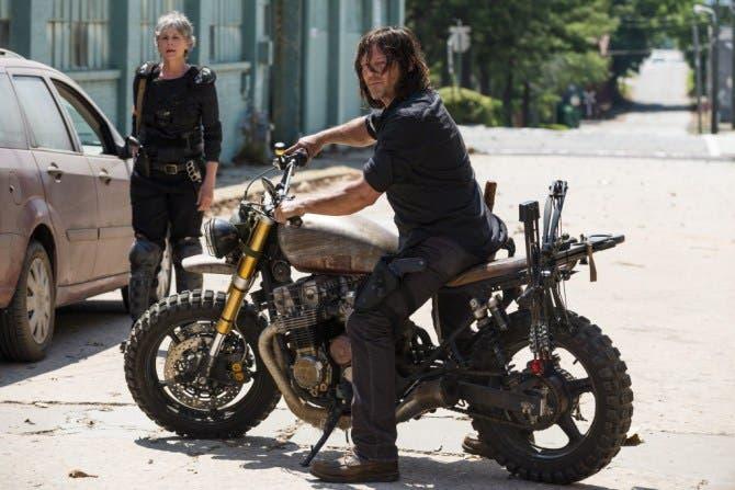 The Walking Dead Temporada 8 Episodio carol daryl