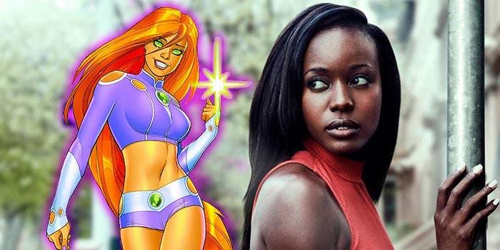 DC Comics Anna Diop es Starfire en Titans