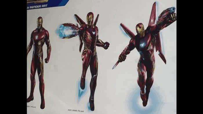 Nueva armadura especial de Iron Man en Vengadores: Infinity War (2018)