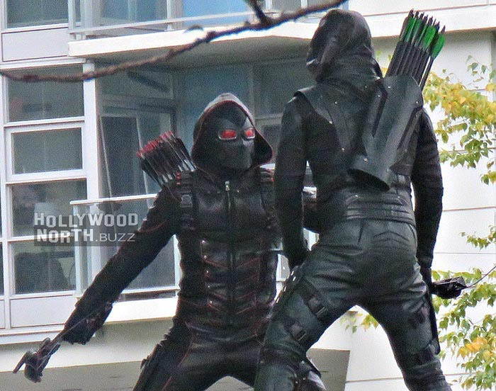 Arrow Nazi en el crossover del Arrowverso