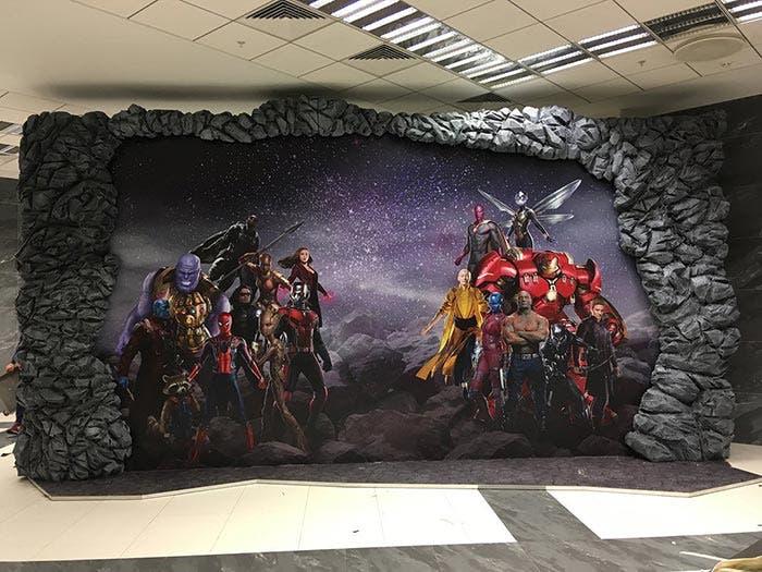 Banner de Vengadores: Infinity War (2018)