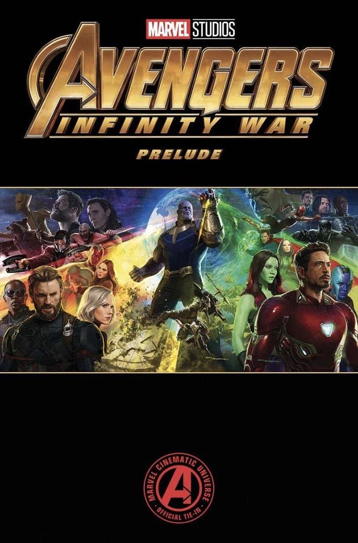 Cómic preludio de Vengadores: Infinity War (2018)