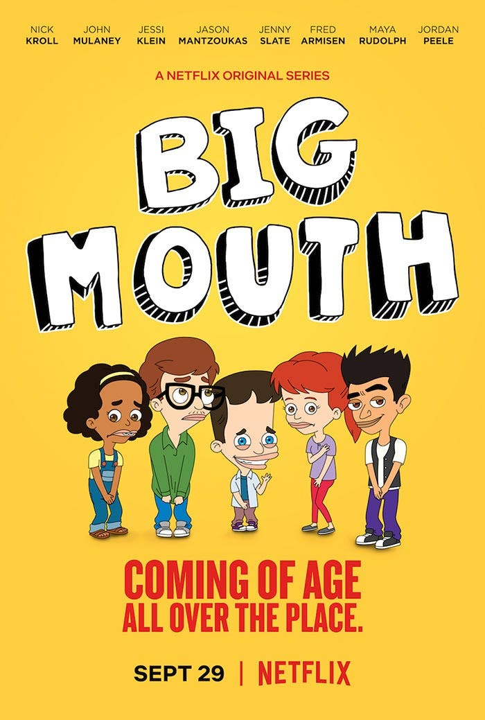 Crítica de Big Mouth (Netflix)