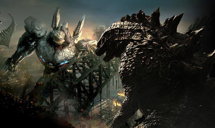 Crossover entre Pacific Rim, King Kong y Godzilla