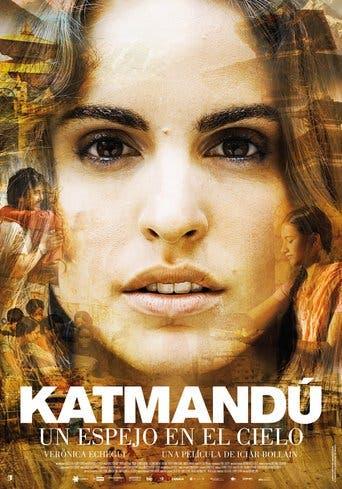 """Poster for the movie """"Katmandú, un espejo en el cielo"""""""