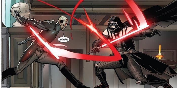 Darth Vader vs Inquisidor (Star Wars)