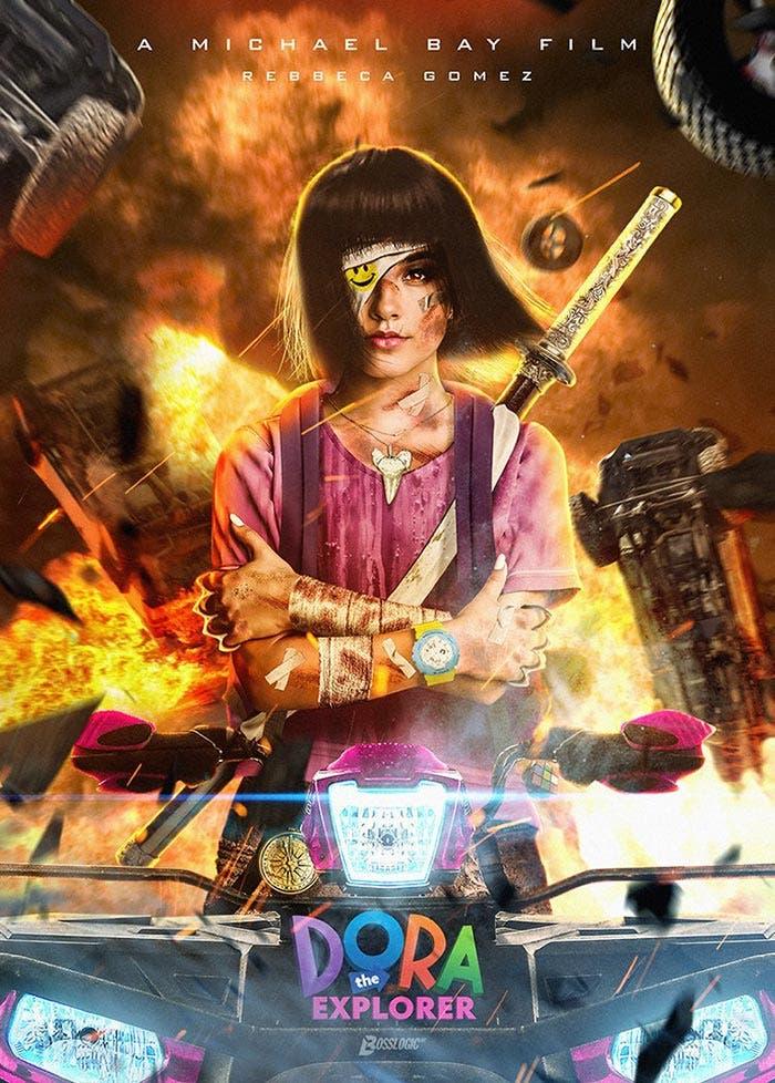 Dora, la exploradora según Michael Bay