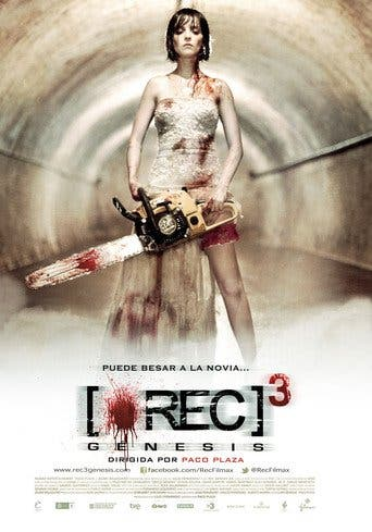 "Poster for the movie ""[REC]³: Génesis"""