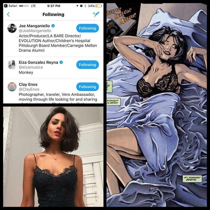 ¿Eiza González como Catwoman?