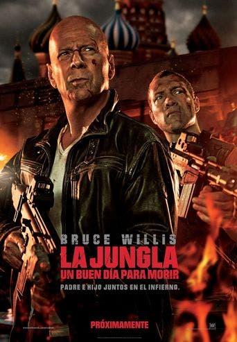 """Poster for the movie """"La jungla: Un buen día para morir"""""""
