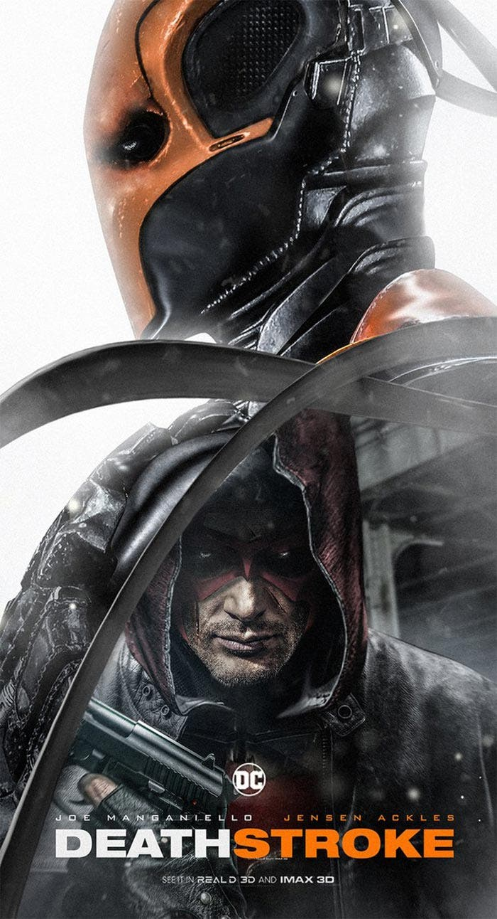 Póster fan made de Deathstroke