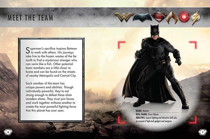 Ficha de Batman en la Liga de la Justicia (2017)