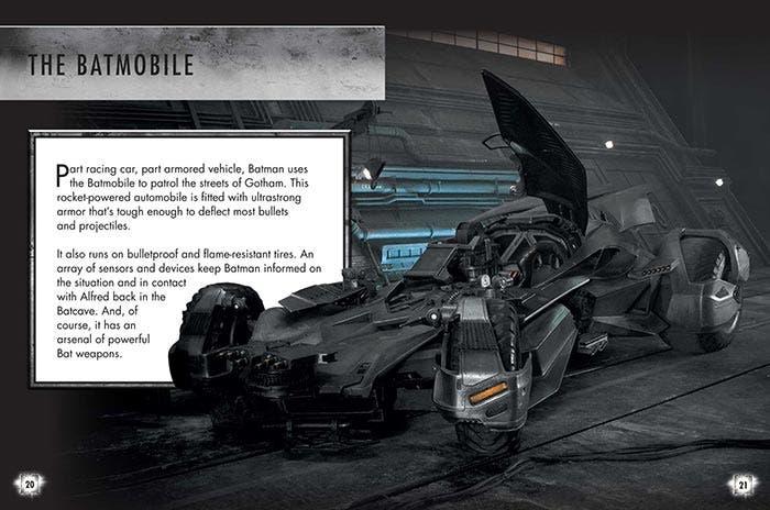 Ficha del Batmóvil en la Liga de la Justicia (2017)
