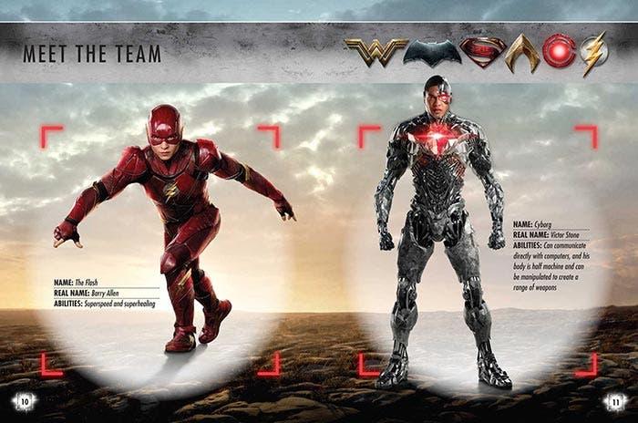 Ficha de Flash y Cyborg en la Liga de la Justicia (2017)
