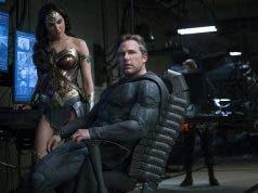 Fotograma de la Liga de la Justicia (2017) con Batman y Wonder Woman