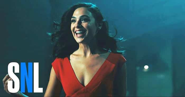 Gal Gadot en Saturday Night Live