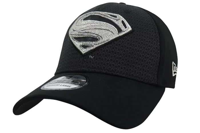 Gorra de Superman negra, merchandising de la Liga de la Justicia (2017)