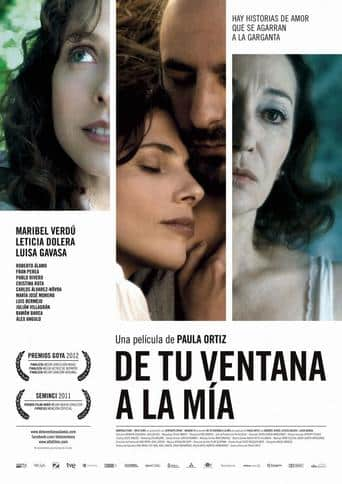 "Poster for the movie ""De tu ventana a la mía"""