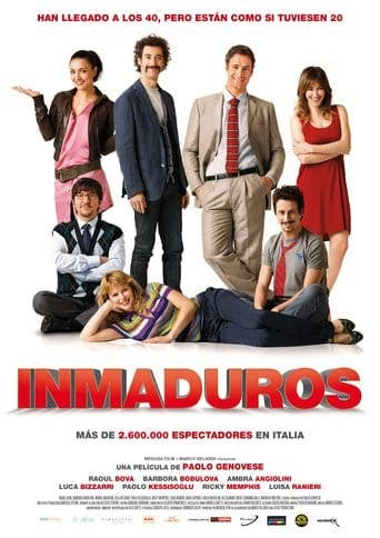 "Poster for the movie ""Inmaduros"""
