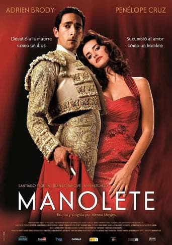 "Poster for the movie ""Manolete"""
