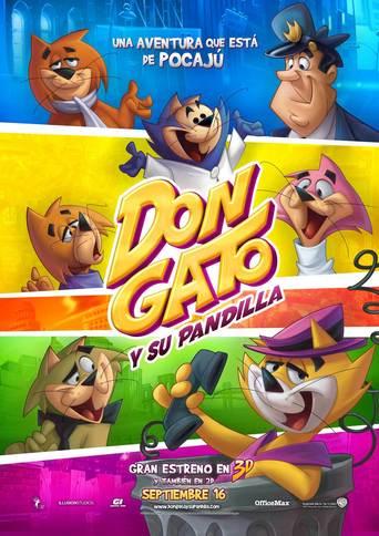"""Poster for the movie """"Don Gato y su pandilla"""""""