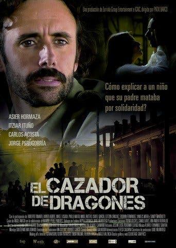 """Poster for the movie """"El cazador de dragones"""""""