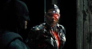 Imagen HD de la Liga de la Justicia (2017): Batman y Cyborg
