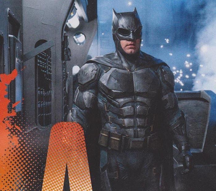 Batman en la Liga de la Justicia (2017) con su traje táctico