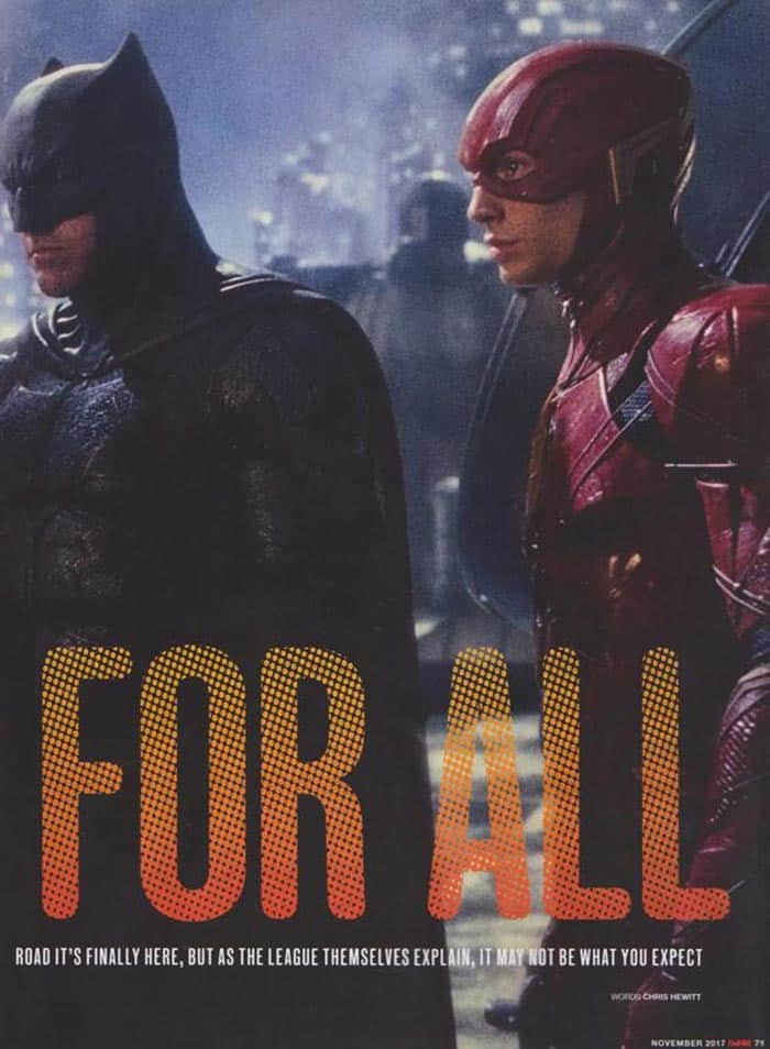 Batman y Flash en la Liga de la Justicia (2017)