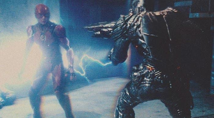 Flash contra un Parademonio en la Liga de la Justicia (2017)
