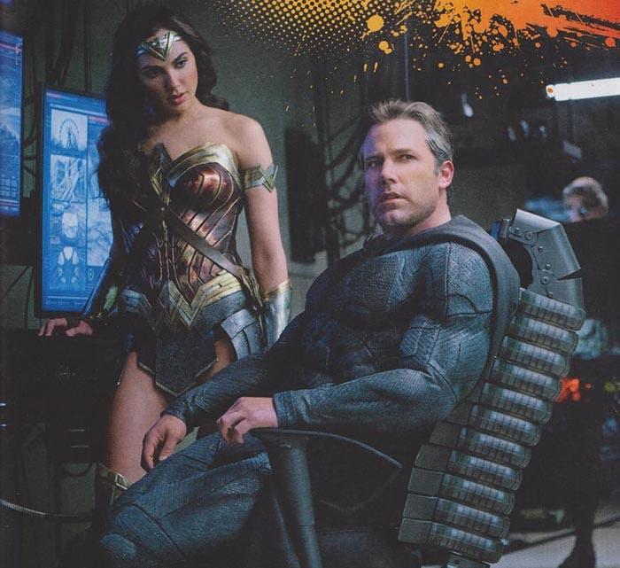 Wonder Woman y Batman en la Liga de la Justicia (2017)