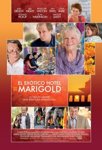 "Poster for the movie ""El exótico Hotel Marigold"""