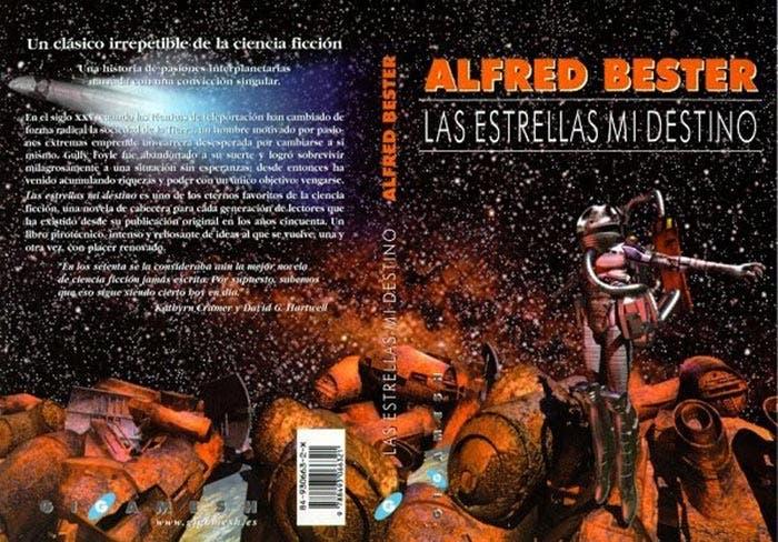 Las estrellas, mi destino | 5 novelas de ciencia ficción a la altura de Blade Runner