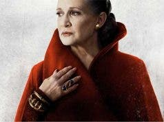 Leia Carrie Fisher Star Wars: Los últimos Jedi