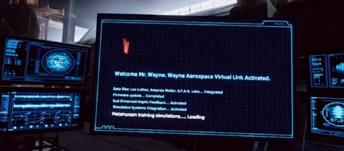 Realidad virtual de la Liga de la Justicia (2017)