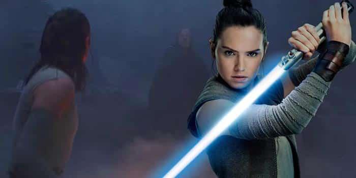 Rey en Star Wars 9