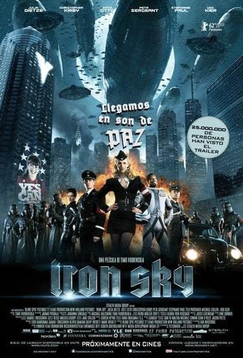 """Poster for the movie """"Iron Sky"""""""